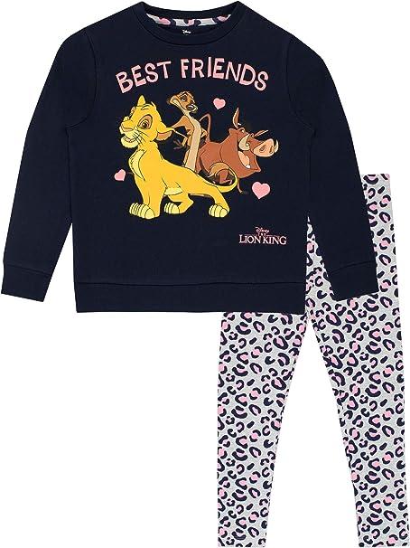 Disney M/ädchen Lion King Schlafanzug