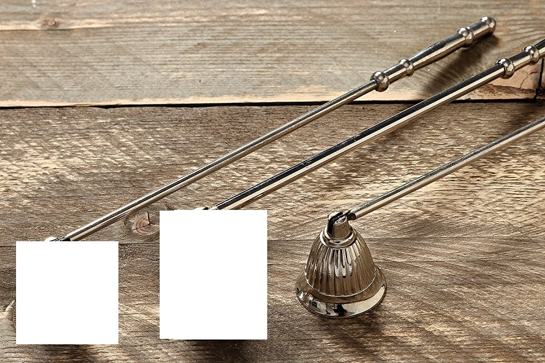 in alluminio//nichel Spegni candela 30 cm