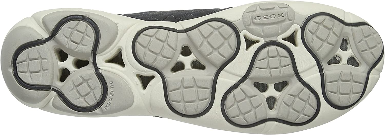 Geox D Nebula A, Zapatillas para Mujer Grau Anthracitec9004