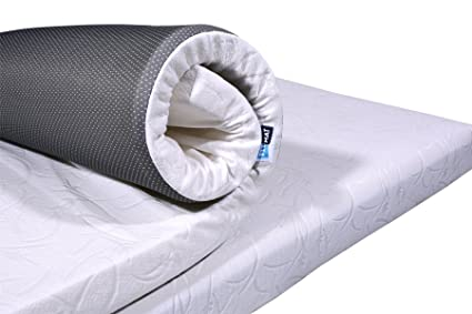 Buy Fitmat Memory Foam Mattress Topper With Cover For Back Pain
