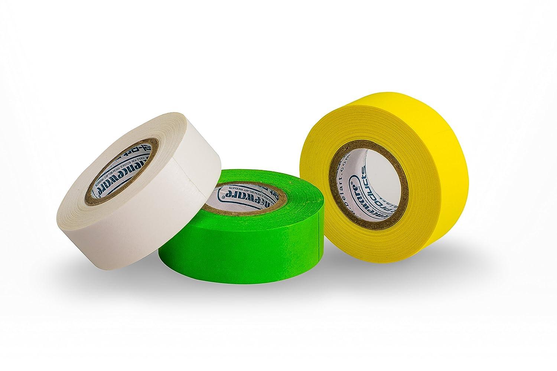 Bel-Art Write-On Label Tape Multi-Pack; 15yd Length, ³/₄ in. Width, 1 in. Core (Pack of 3) (F13462-0300)