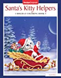 Santa's Kitty Helpers Holiday Coloring Book (Design Originals) 32 Cute, Expressive-Eyed Christmas Cat Designs by Kayomi Harai on High-Quality, Extra-Thick Perforated Pages that Resist Bleed-Through