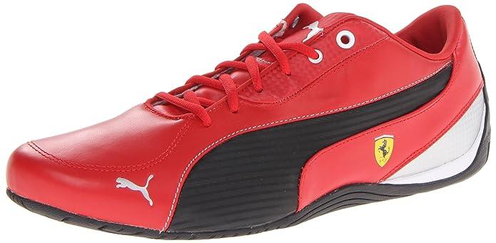 Amazon.com | PUMA Men's Drift Cat 5 Ferrari NM Motorsport Shoe, Rosso Corsa/ Black, 14 M US | Fashion Sneakers