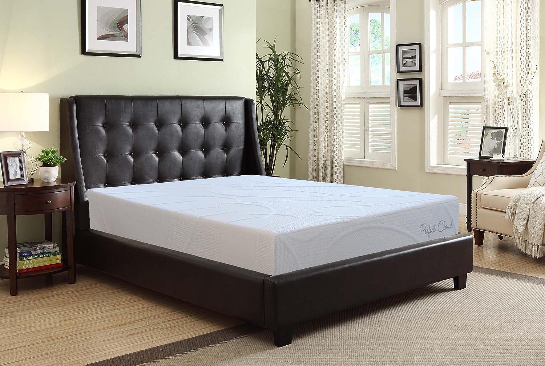 amazon com perfect cloud supreme 8 inch memory foam mattress