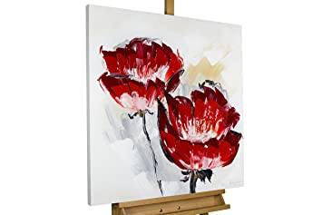 KunstLoft® Acryl Gemälde \'Der Duft der Blütenpracht\' 80x80cm ...
