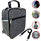Leoh Insulated Bag. Travel Bags Baby Lunch Bags, Kids Lunch Box Freezable, Baby Food Bags. Perfect storage for baby bottles and snacks. Cooler Bag. Hot & Cold Bag.