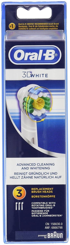 Oral B D White Set de cabezal recambios para cepillo de dientes
