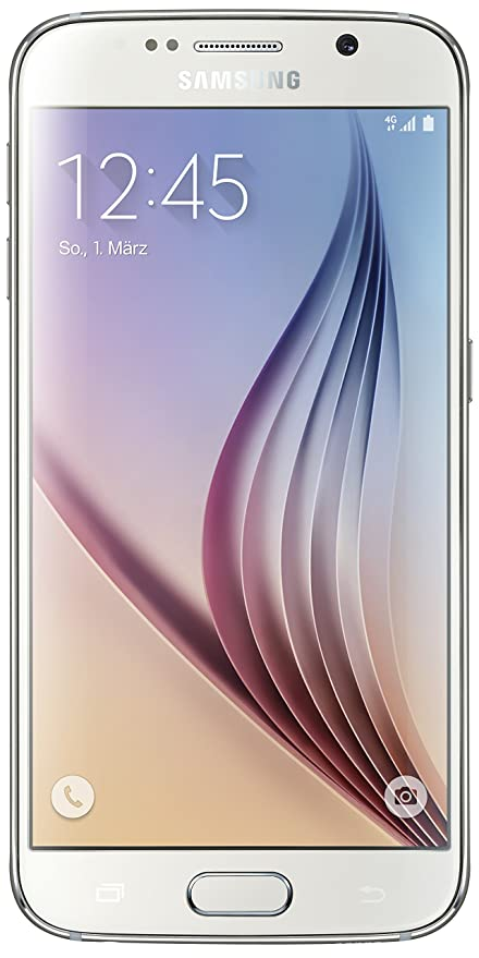 "Vodafone Samsung Galaxy S6 5.1"" SIM única 4G 3GB 32GB 2550mAh Blanco - Smartphone ("
