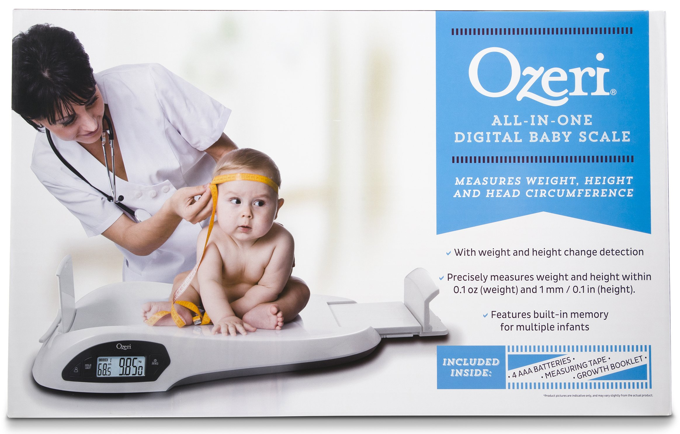 Ozeri All-in-One Baby and Toddler Scale - with Weight and Height Change Detection by Ozeri (Image #6)