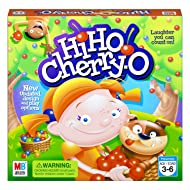 Hasbro Hi Ho! Cherry-O Board Game for 2 to 4 Players Kids Ages 3 and Up (Amazon Exclusive)