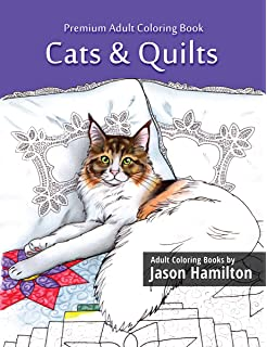 Knitting Kittens Cats Adult Coloring Book For Knitting And Cat