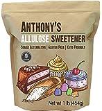 Anthony's Allulose Sweetener, 1 lb, Batch Tested Gluten Free, Keto Friendly Sugar Alternative, Zero Net Carb, Low…