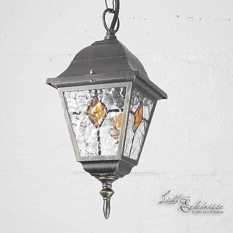 Rústica Lámpara de techo en antikgold Incluye 1 x 12 W E27 ...