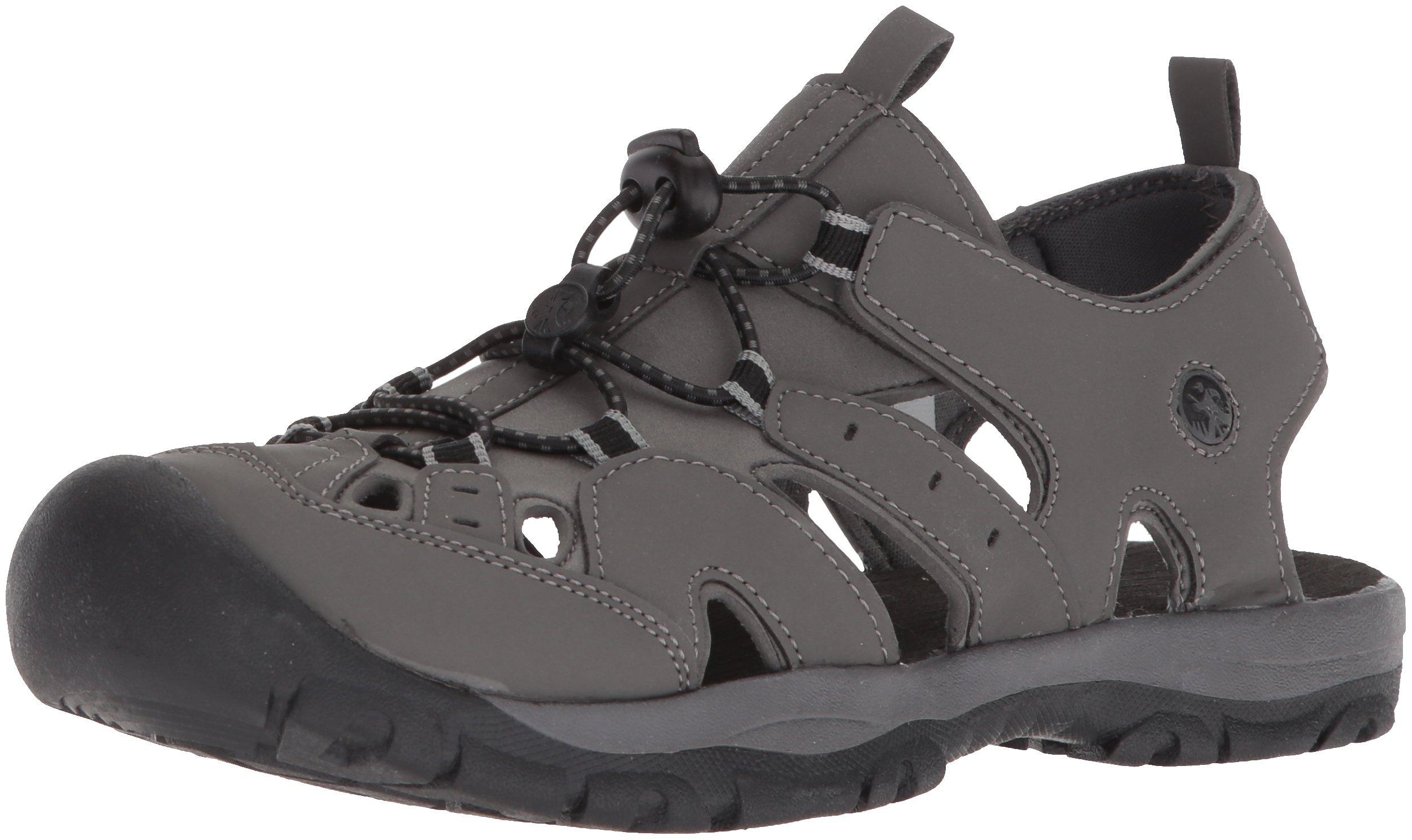 Northside Men's Burke II Sport Sandal, Dark Gray, Size 11 M US by Northside