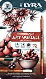 LYRA 2001123 Rembrandt Art Specials Etui M12 Künstlerstift Metalletui mit 12 Stück