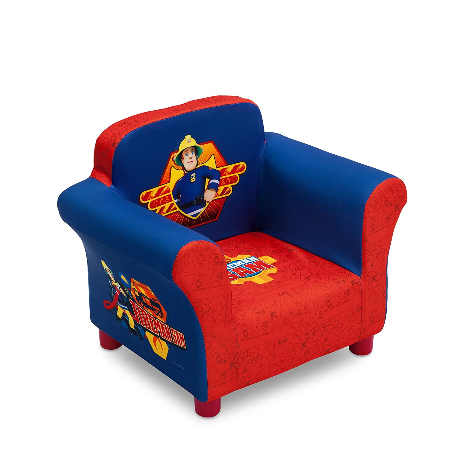 Delta Children Thomas and Friends Children's Upholstered Chair Delta Children Products UP85931TH