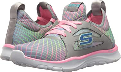 : Skechers Kids Womens Flex Trainer 81774L (Little