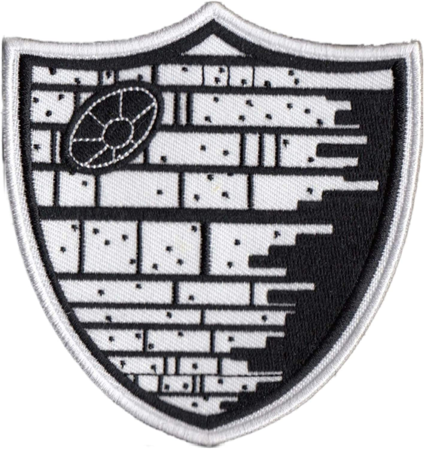 Las Vegas Death Star Patch Raiders Patches