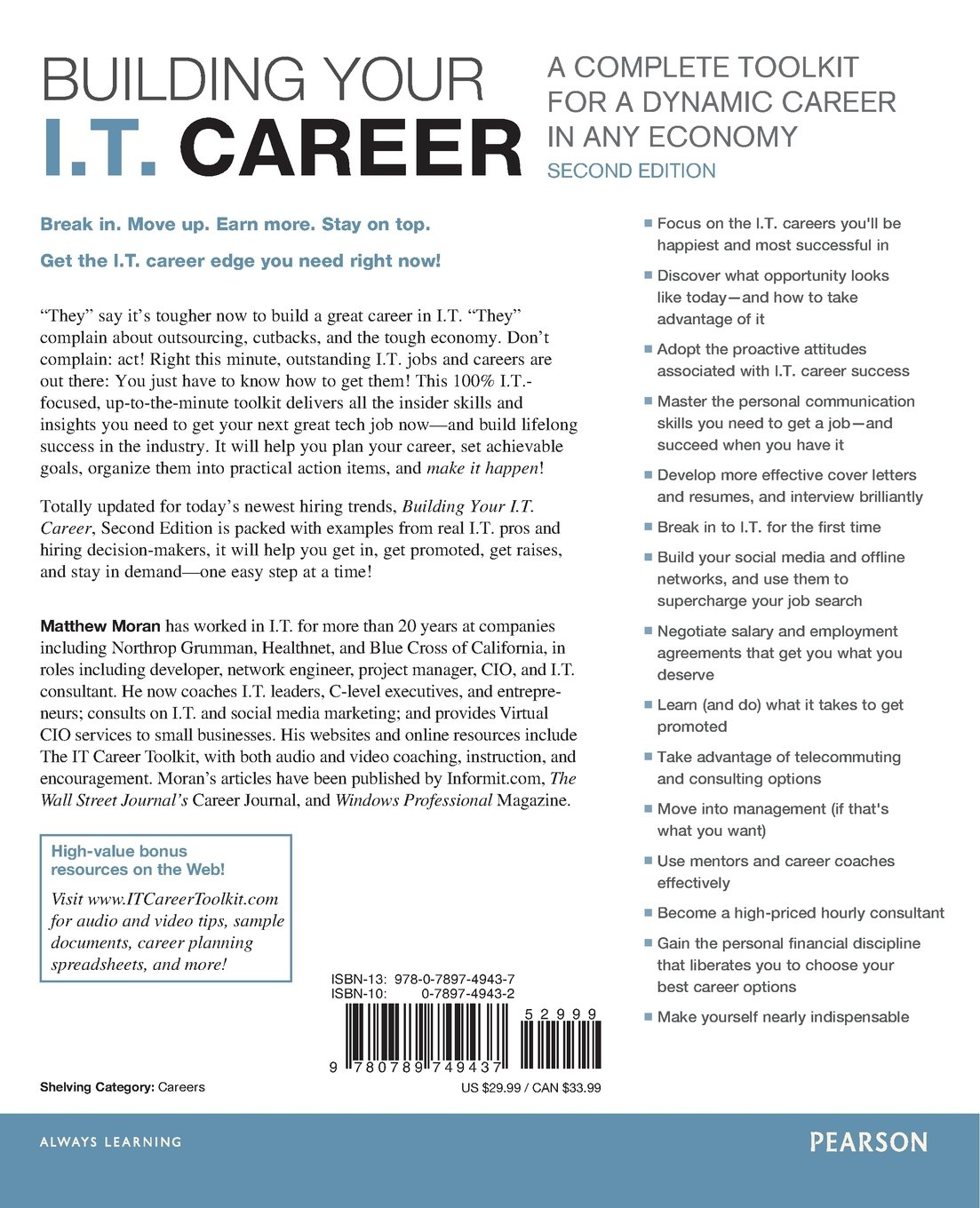 Building Your I T  Career: A Complete Toolkit for a Dynamic Career