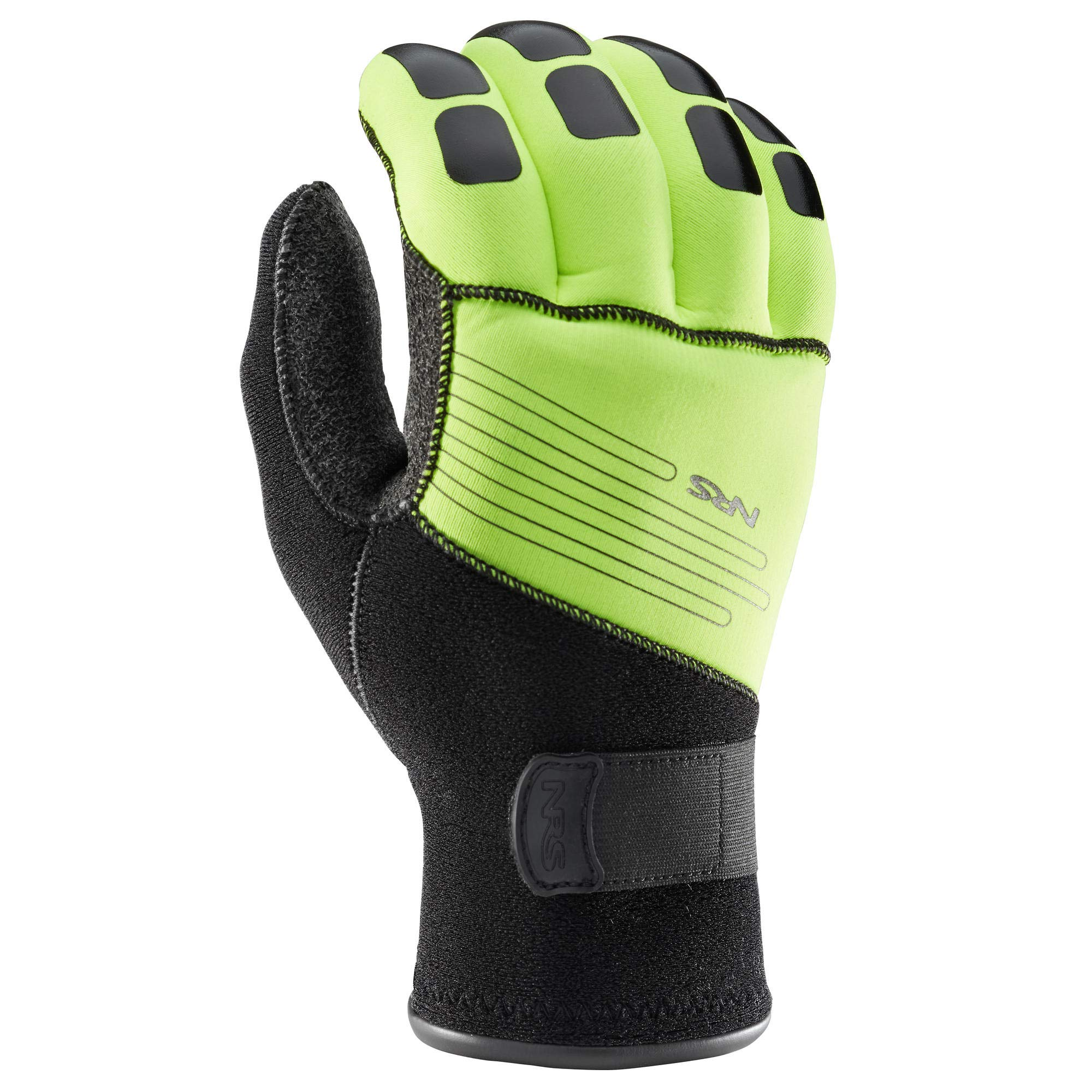 NRS Reactor Rescue Glove High Vis Green Large