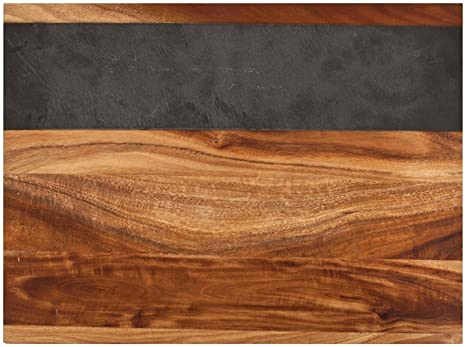 Amazon Twine Rustic Farmhouse Acacia Wood And Slate Cheese
