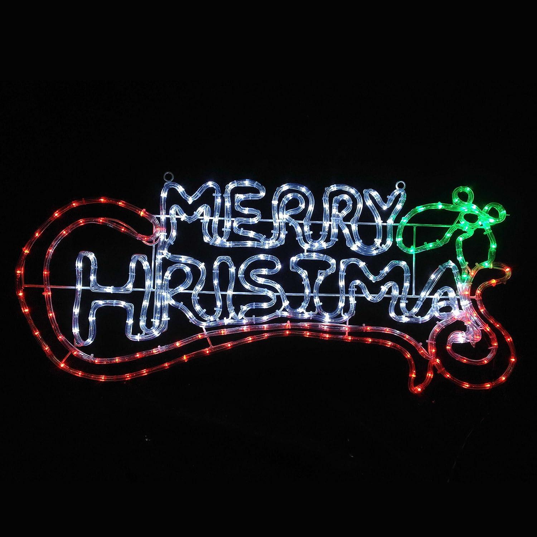 Merry Christmas Light Up Sign