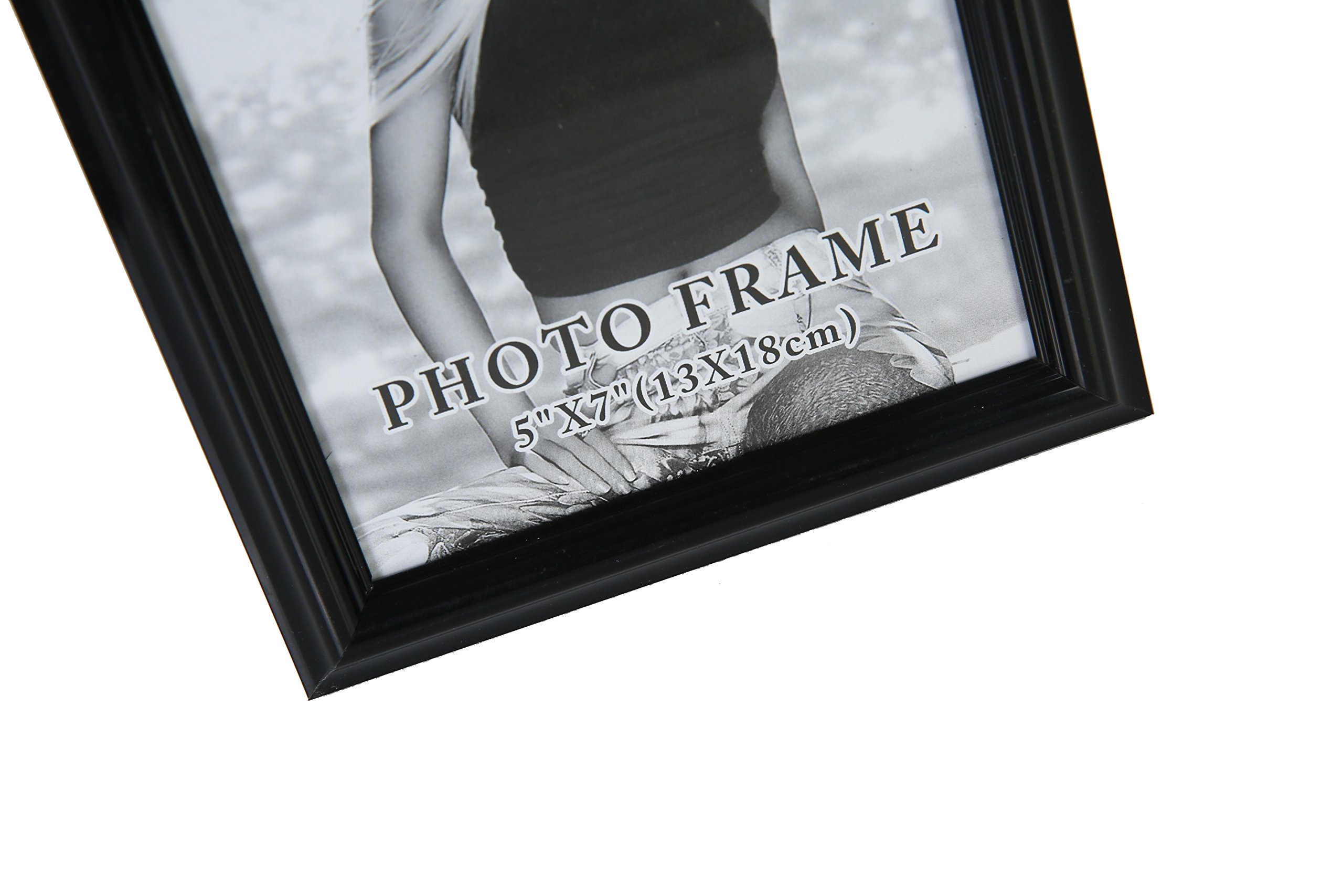 Giftgarden Wall Picture Frame 5x7 for Multi Photo 5 x 7 Inch, 4 pcs Package