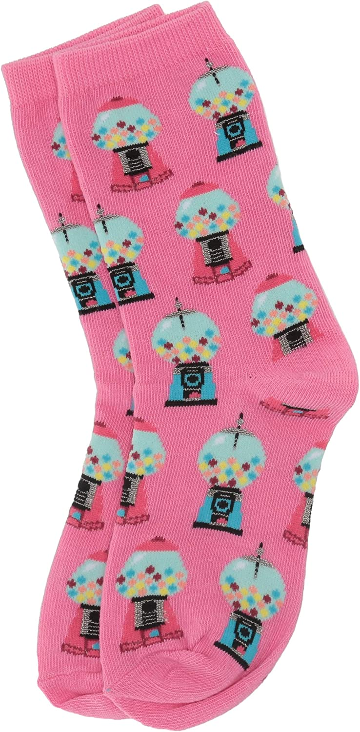 Hot Sox girls Food Novelty Casual Crew Socks