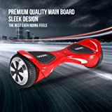 """ORKAN Hoverboard Certified 2 Wheel Self Balancing Scooter w/ bright LED light 6.5"""" UL2272 Electric Smart Scooter"""