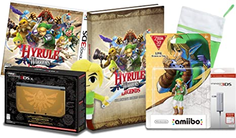 The Secret Santa Legend of Zelda Hyrule Gold 3DS XL con ...