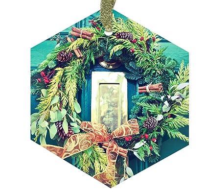 Amazon Home Accents Christmas Wreath 5