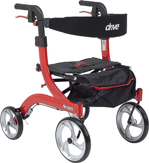 Amazon.com: Nitro Euro Style - Andador con ruedas. Altura ...