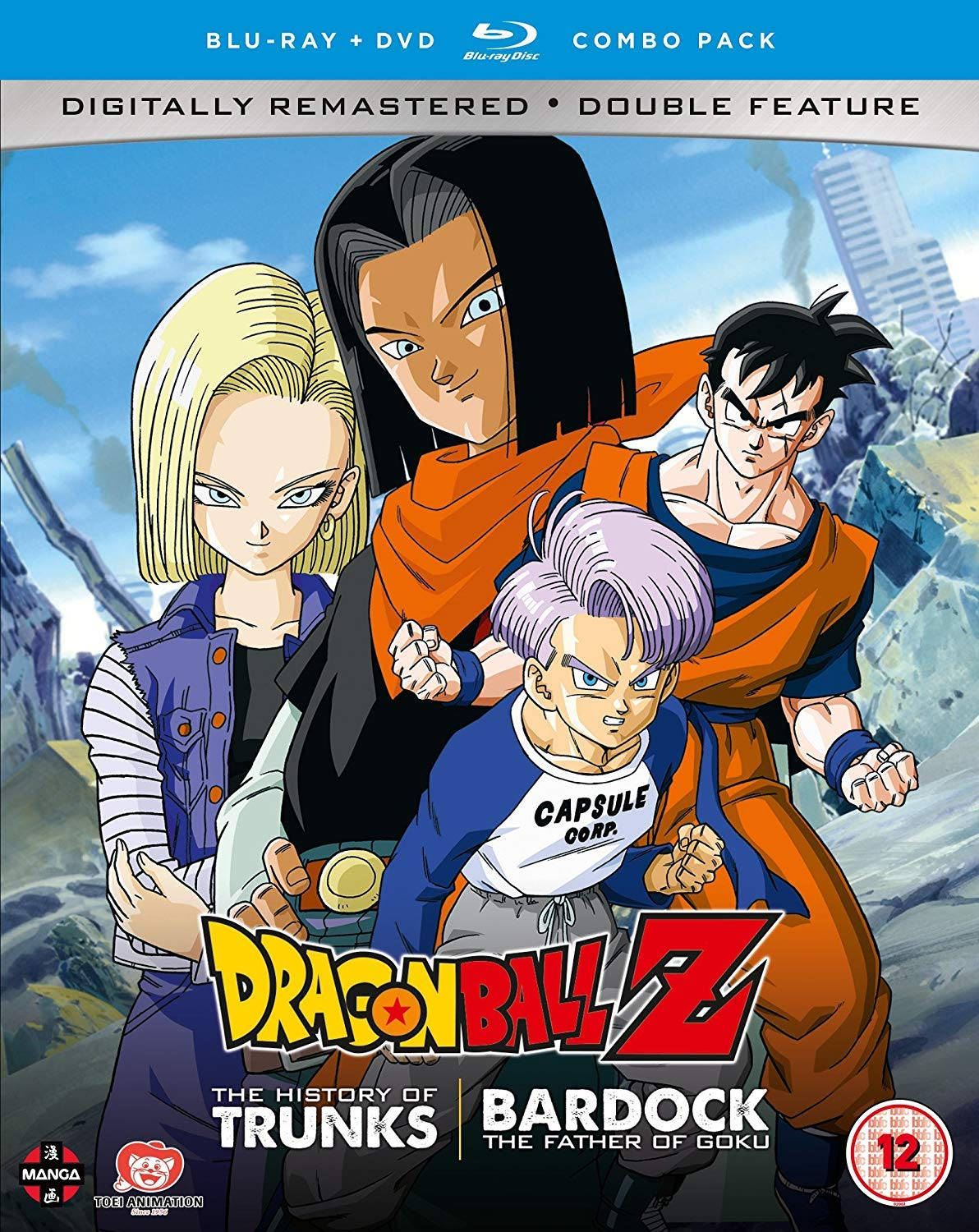 Dragon Ball Z The TV Specials Double Feature: The History of ...