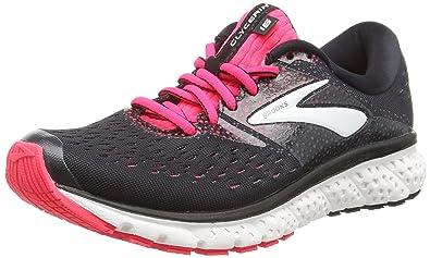 f3991fd30321a Brooks Women's Glycerin 16 Black/Pink/Grey 9.5 B US