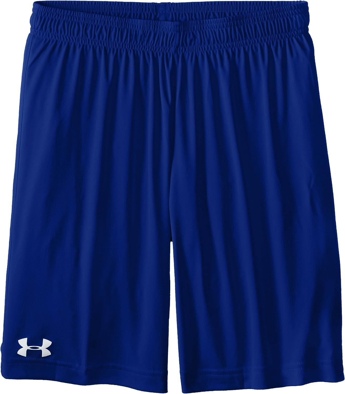 Under Armour Boys Basic Microshort Shorts, Royal (400)/White ...