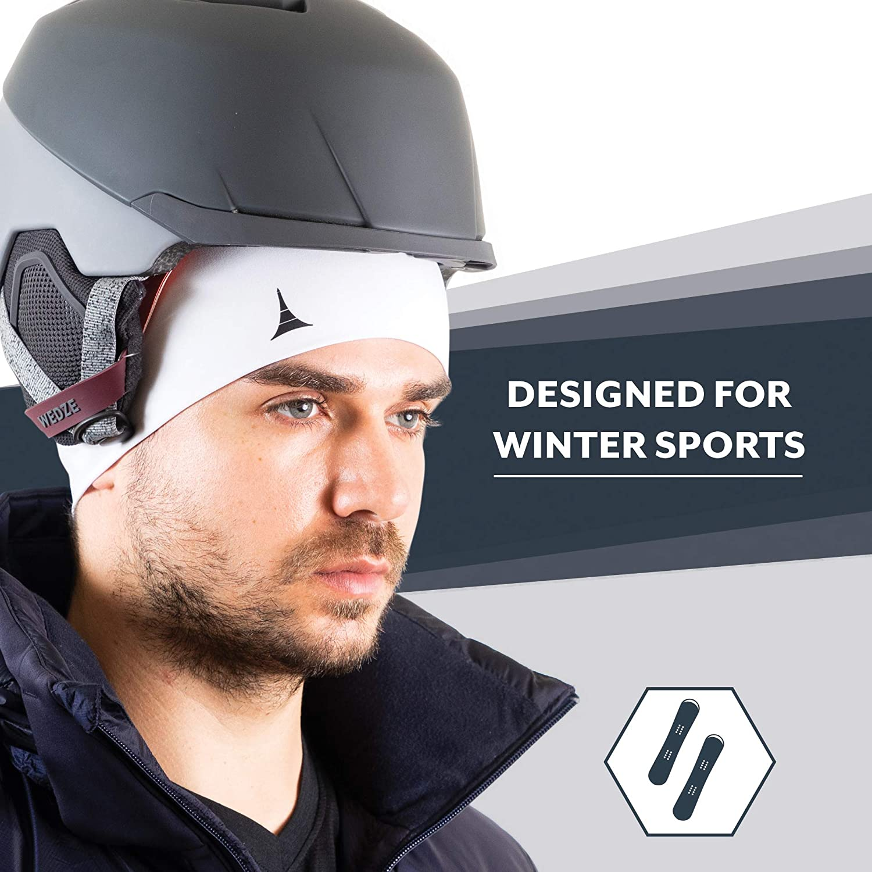 Passt Unter Helme und Performance Feuchtigkeitstransport French Fitness Revolution Skull Cap//Helm Liner//Running M/ütze/-/Ultimate Thermo