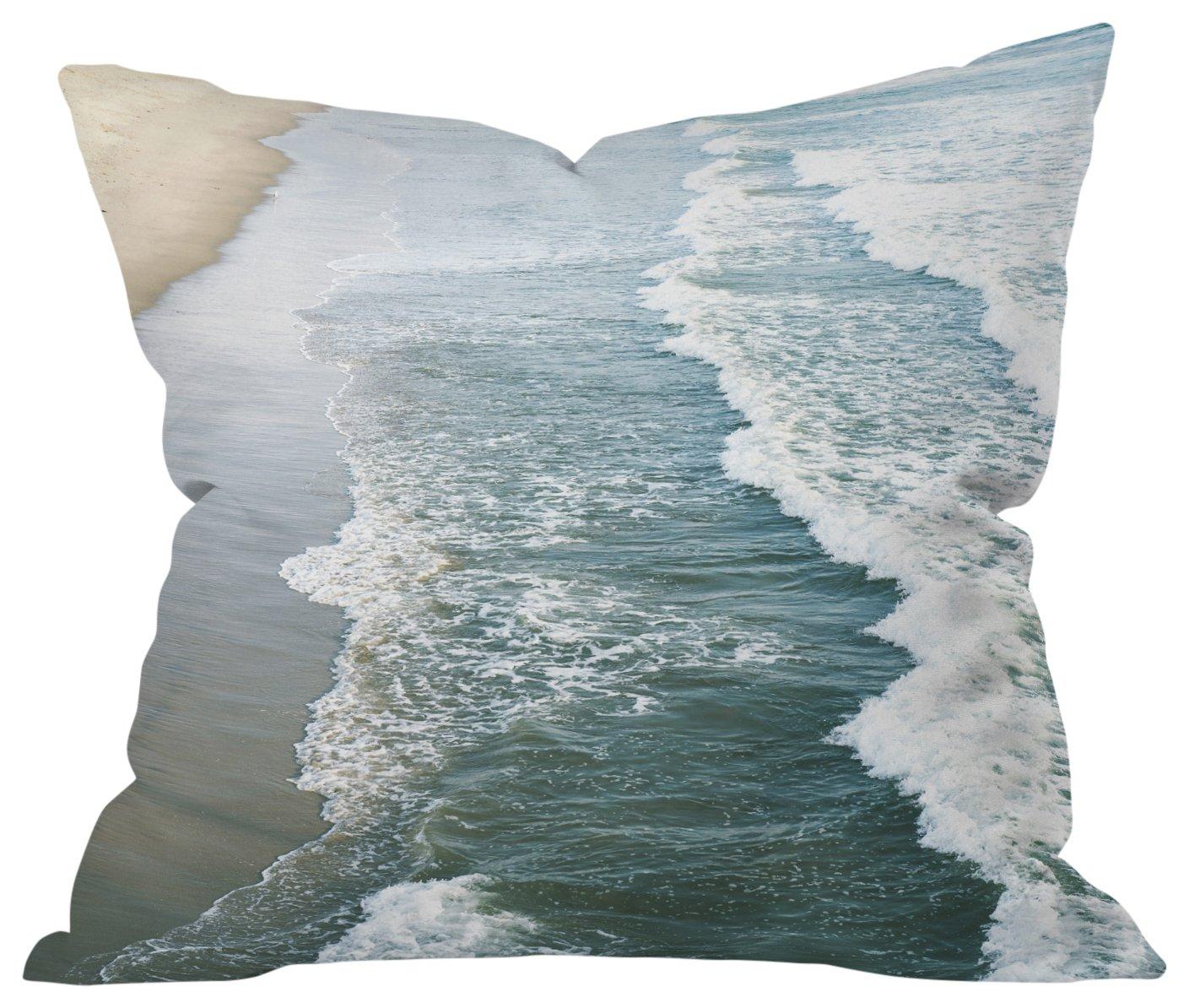 20 x 20 Deny Designs Bree Madden Santa Monica Pier Outdoor Throw Pillow