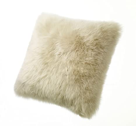 """Amazon.com: Largo lana de oveja almohadas 24"""" Square ..."""