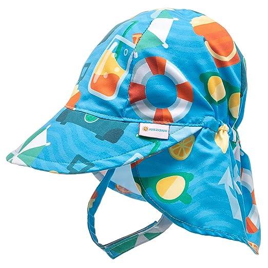d4b239ad658 Amazon.com  Nozone Better Baby Flap Sun Hat - Infant Toddler Sun ...