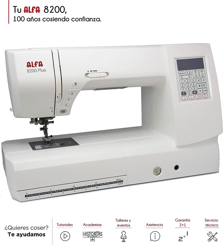 Alfa Horizon 8200-Maquina de Coser electrónica: Amazon.es: Hogar