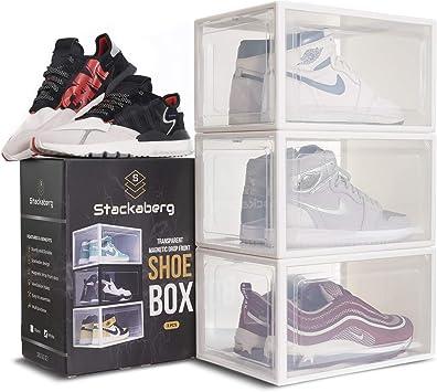 Storage in 2 pieces ShowOffAU Drop Front Shoe Box
