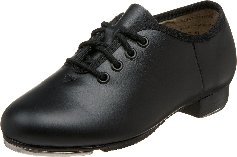 Childs /& Adult CAPEZIO Black Tic Tap Toe Low TAP SHOES Teletone Heel /& Toe Taps