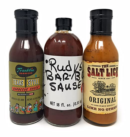 Top Three Texas BBQ Sauce Set