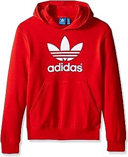 adidas Jungen Active Trefoil Hoodie Hooded Long Sleeve Sweatshirt Rot OJS16250811 YOWF0