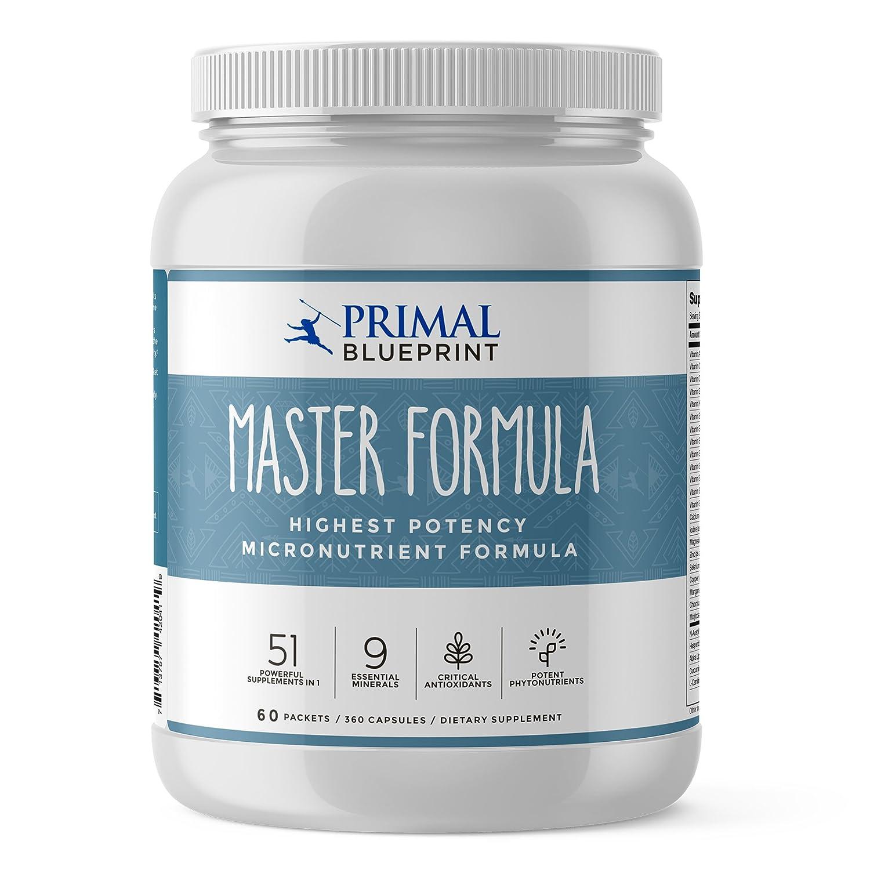 Amazon primal blueprint master formula 360 count health amazon primal blueprint master formula 360 count health personal care malvernweather Images