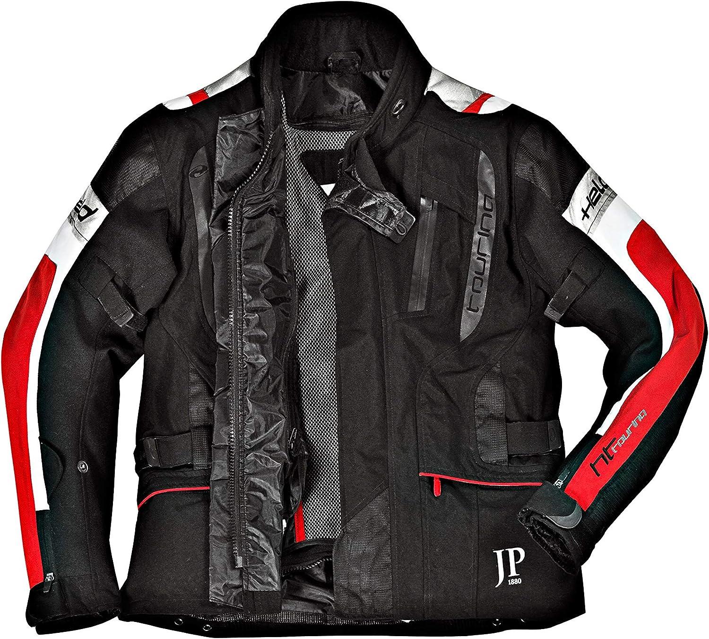 Soft-Protektoren /& Tailleng/ürtel 714280 JP 1880 Herren gro/ße Gr/ö/ßen bis 7 XL Motorradjacke mit auszippbarem Thermofutter