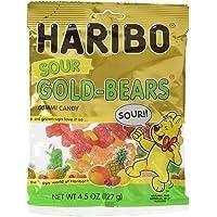 Haribo Sour Gold-Bears Gummi Candy Bag (4.5 oz/127g) (2 Bags)