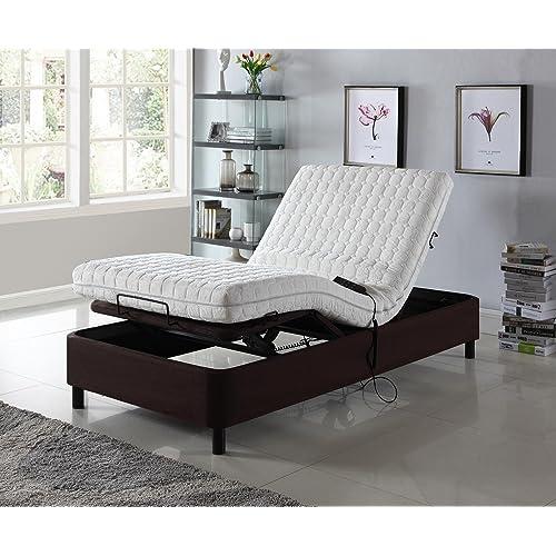 Adjustable Bed With Mattress Amazon Com