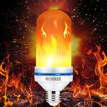 Schön LED Flamme Effekt Glühbirne, Kohree E27 LED Flimmer Feuer Birne Simulierte  Dekorative Leuchte, Vintage