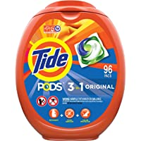 96Ct Tide PODS Laundry Detergent Liquid Pacs Original Scent